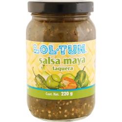 Salsa Mayan Verde Taco Sauce 220g