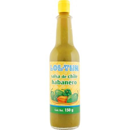 Salsa Habanero Verde Sauce 140ml