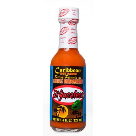 Salsa Habanero Caribean 120ml