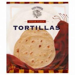Tortilla Weizen 25cm Burrito 450g (6 Stück)