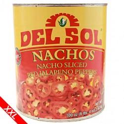 Nacho Jalapeno Scheiben 2,8 Kg (ROT)