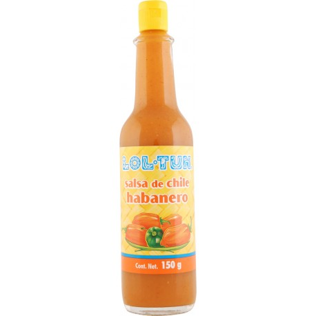 Salsa Habanero Red Sauce 140ml