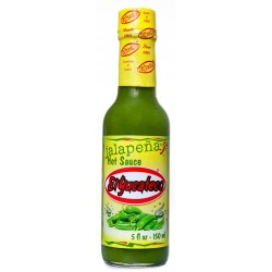 Salsa Jalapeno, El Yucateco Hot Sauce, 150 ml