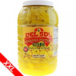 Banana Peppers - GELBE Chili Ringe 3780g (Mild)